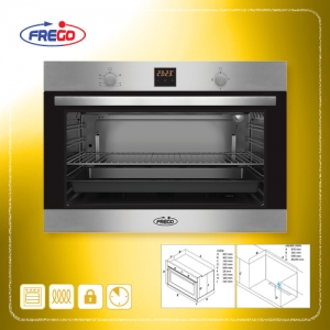 FREGO Gas Oven Built-In 90 cm