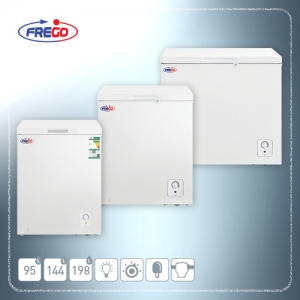 FREGO Chest Freezer 198 L - 144 L - 95 L