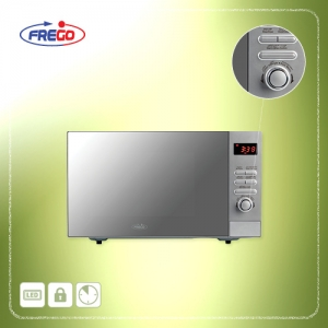 FREGO Microwave Oven 23L - 800W silver color